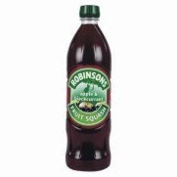 Robinsons Fruit Squash Apple & Blackcurrant 1 Liter Plastic Bottles (Pack of 2)