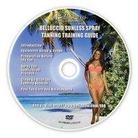 Belloccio Turbine Spray Tanning Training Guide DVD How-To Sunless Airbrush Salon