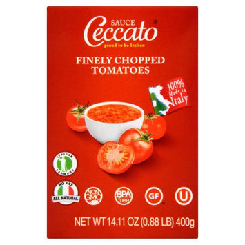 Galvusa, Llc Ceccato, Tomato Finely Chopped, 14.11 Oz (Pack Of 12)