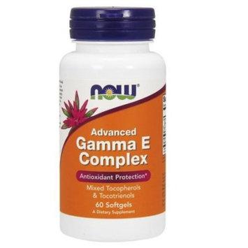 Advanced Gamma E Complex Now Foods 60 Softgel