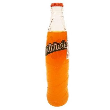 La Mariposa Mirinda Orange Flavor Drink 12 oz - Refresco de Naranja (Pack of 12)