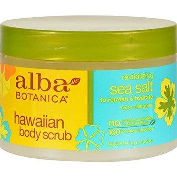 Alba Botanica - Alba Botanica Hawaiian Sea Salt Body Scrub - 14.5 Oz - by Alba Botanica