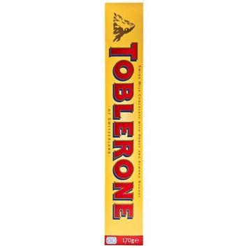 Toblerone Swiss Milk Chocolate 170g Count 10 (1 Case)