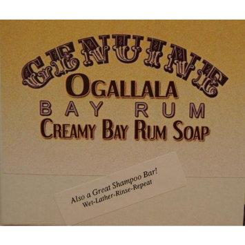 Two (2) Genuine Ogallala Bay Rum CREAMY Bay Rum Bath Soap/Shampoo - 4.5 oz each.