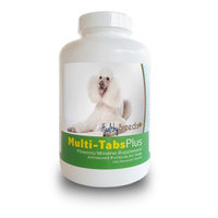 Healthy Breeds 840235140597 Poodle Multi-Tabs Plus Chewable Tablets 180 Count