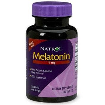 Natrol Melatonin, 1mg, Tablets 180 ea