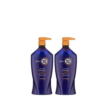 It's a 10 Haircare Miracle Shampoo Plus Keratin Sulfate Free, 33.80 fl oz - 2 PACK