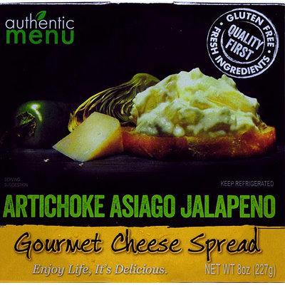 Authentic Menu Am Savory Sprd Artichoke Asiago Jal 8oz