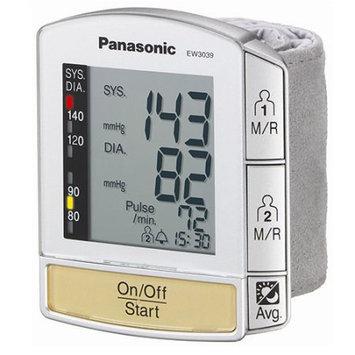 Panasonic Appliances Wrist Blood Pressure Monitor with Flat Panel Display