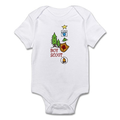 CafePress - Boy Scout Infant Bodysuit - Baby Light Bodysuit