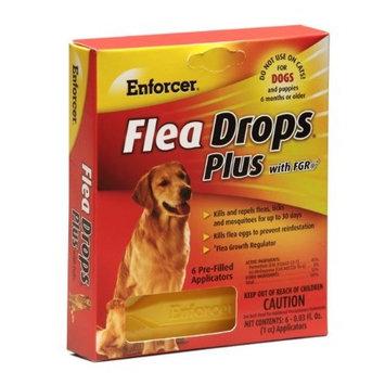 Enforcer 6-Pack Flea Drops Plus for Dogs