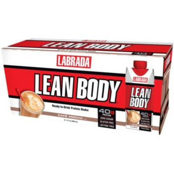 Lean Body - CAFE MOCHA (12 Drinks) by Labrada Nutrition at the Vitamin Shoppe