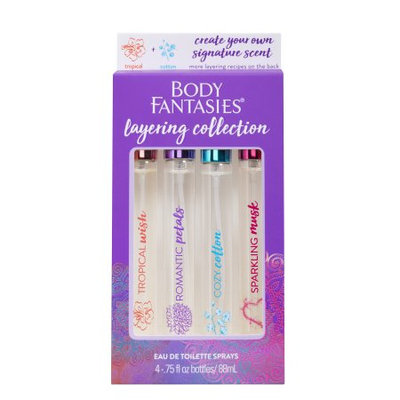 Pdc Brands Body Fantasies Layering Kit, Purple