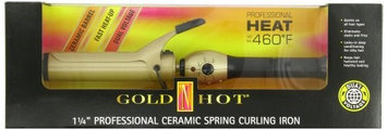 Gold 'n Hot Gold N Hot Professional Ceramic Spring Curling Iron, 1 1/2