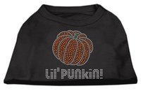 Mirage Pet Products 521303 MDBK Lil Punkin Rhinestone Shirts Black M 12