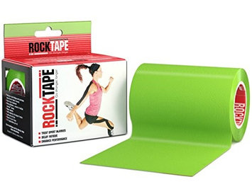 RockTape 4 Solid Active Recovery Kinesiology Tape - Lime