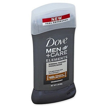 Dove Men + Care Elements Mineral Powder + Sandalwood Deodorant 3 oz. pack of 1