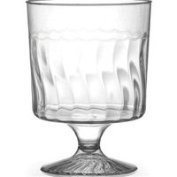 Fineline Settings 2208 Flairware 8 oz Clear Wine Glass 1 Piece