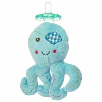 Mary Meyer Wubbanub Plush Pacifier, Buccanneer Octopus