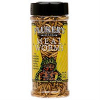 Fluker's Freeze Dried Mealworms For Reptiles-Amphibians 1.7 oz