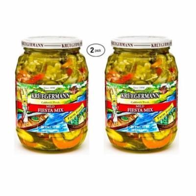 Kruegermann Pickles Mild Fiesta Mix 2-Pack (64 fl.oz)