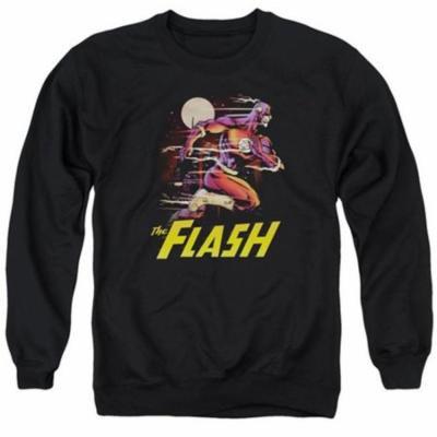 Trevco JLA JLA Black Adult Unisex Sweatshirt