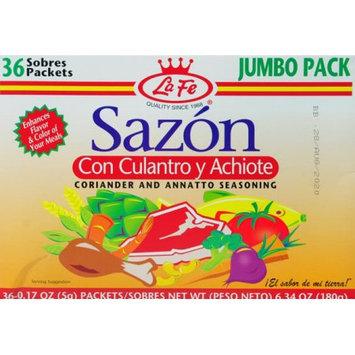 La Fe Foods La Fe Sazon Jumbo W/cilantro 6.34 Oz