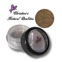 Christina's Natural Qualities All Natural Mineral Powder Shimmer Brown Eye Color (Eyeshadow) - Mocha Ice