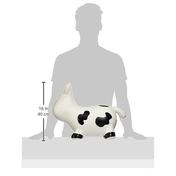 Trumpette Howdy Bouncy Cow, Grey