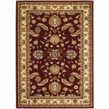 Couristan Anatolia Floral Heriz Rug, Cream/Red