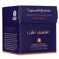 Spresso Luxe Nespresso Compatible Brazil Espresso Intenso Coffee Capsules, 60pk