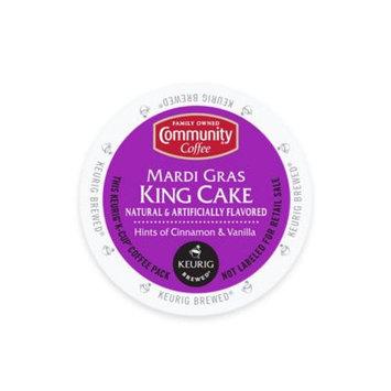 Keurig K-Cup Pack 18-Count Community Coffee Mardi Gras King Cake