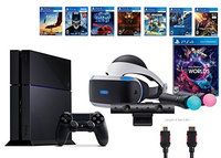 Sony Vr PlayStation VR Launch Bundle 9 Items: VR Launch Bundle, PlayStation 4,7VR Game Disc PSVR Rush of Bloo
