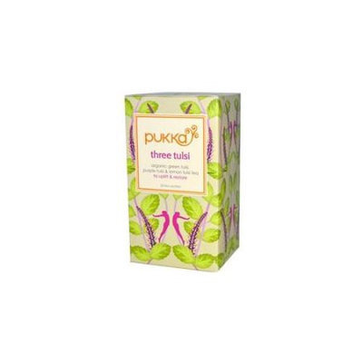 Pukka Herbs - Herbal Tea Organic Three Tulsi - 20 Tea Bags