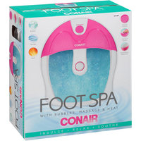 Conair Foot Spa with Bubbles, Massage & Heat