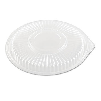 Smart Set FPR916 3/4-Inch Height Pro Clear Lid for Microwave Safe Container 75-Pack (Case of 4)