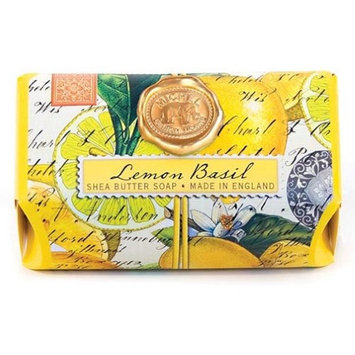 Michel Design Works Bath Soap Bar 9 Oz. Box of 3 - Lemon Basil