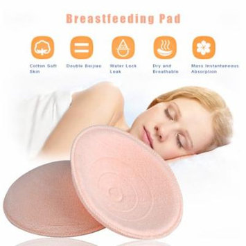 Yosoo 8Pcs Mother's Necessary Washable Breastfeeding Pads Soft Breathable Nursing Pads, Mother Nursing Pad,Nursing Pad