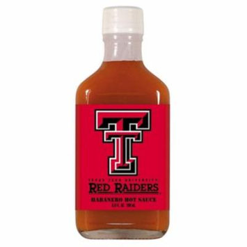 Hot Sauce Harrys 3944 TEXAS TECH Red Raiders Hot Sauce Habenero Flask - Flask