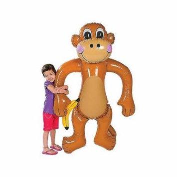 Jumbo Inflatable Monkey - Approx. 61