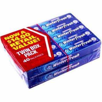 Wm Wrigley Jr Winterfresh Chewing Gum, 40 ea