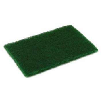 Continental Commercial Products CONMD6900 Medium Duty Scouring Pad, 6 X 9, Green, 10 Per Pack, 6 Packs/carton