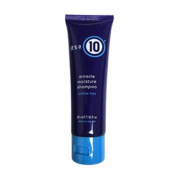 It's A 10 Miracle Moisture Shampoo 2 Oz, Sulfate Free Nutrition For Your Hair