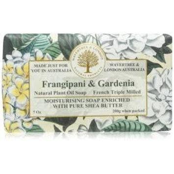 Wavertree & London Frangipani and Gardenia Luxury Soap, 7 Oz