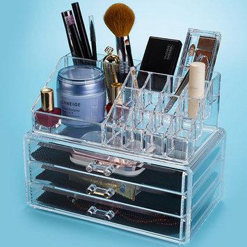 Felji Acrylic Jewelry & Makeup Organizer with 3 Drawers 1304