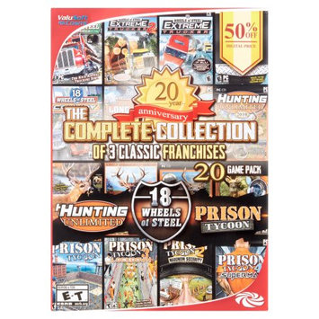 Valusoft Cosmi The Complete Collection of 3 Classic Franchises Games, 20 pack