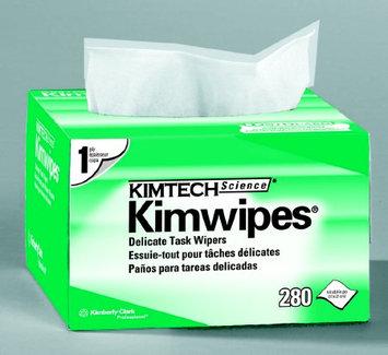 Kimtech Prep Task Wipe Light Duty Kimtech Science Kimwipes Disposable 4.4 X 8.4 Inch - Box of 280 - 4 Pack