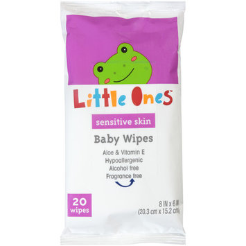 Little Ones Baby Wipes Unscented, 20 Ct.