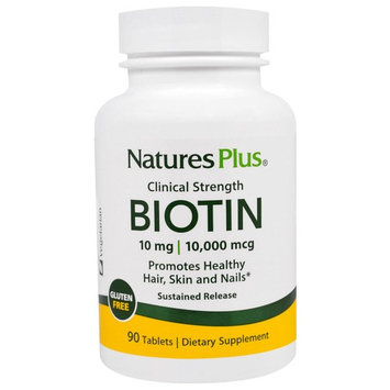 Nature's Plus Clinical Strength Biotin -- 10 mg - 90 Tablets