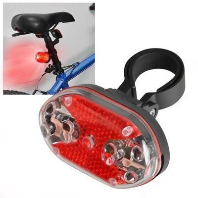 Insten 9 LED Bike Bicycle Taillight Tail Rear Light Red Warning Signal 7 Flashing Modes Biking Safety Lamp